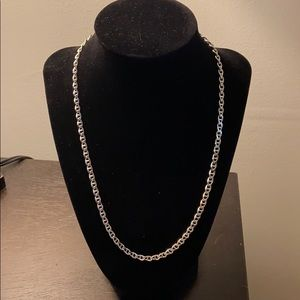 Chain Link 925 Sterling Silver 20 Inch Necklace